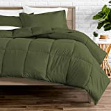 Bare Home Kids Comforter Set - Twin/Twin Extra Long - Goose Down Alternative - Ultra-Soft - Premium 1800 Series - Hypoallergenic - All Season Breathable Warmth (Twin/Twin XL, Cypress Green)