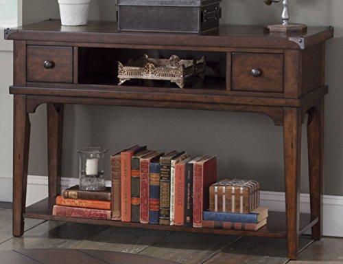 Liberty Furniture Industries Aspen Skies Sofa Table, 48' x 17' x 32', Medium Brown