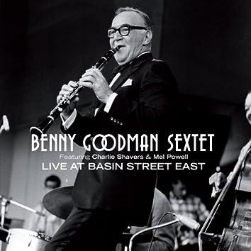Benny Goodman Sextet Live at Basin Street East (feat. Charlie Shavers & Mel Powell)