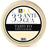 Spanish Sheep Milk Cheese with White Truffles – 1 pound – Aged 6 Months