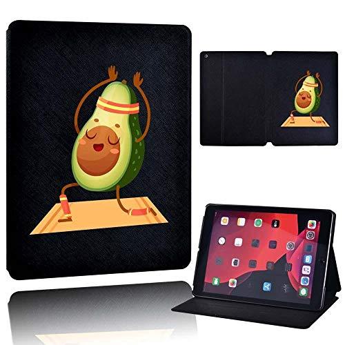 MENGYI Cubierta de la Caja de la Tableta Estuche para Ap iPad 10.2 7º 8º 2020 / iPad Mini / IPAD2 / 3/4 / iPad 5/6/7 (Color : AVO Yoga, Size : iPad 5th 6th Gen)