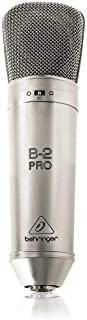 Behringer Pro Dual Diaphragm Studio Microphone Microphone, Golden [B2Pro]