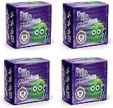 Cura Farma Pillo Premium Taglia 1 New Born 3/6 Kg (4 Confezioni) - 3060 g
