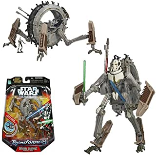 Hasbro Star Wars Transformers - General Grievous Mono Wheel Bike