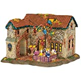 Department 56 Snow Village Halloween Day of The Dead House Lit Building, 8.07 inch, Multicolor