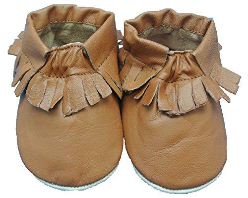 Shoozies , Chaussures Souple pour bébé (garçon) Marron Marron - Marron - Marron,