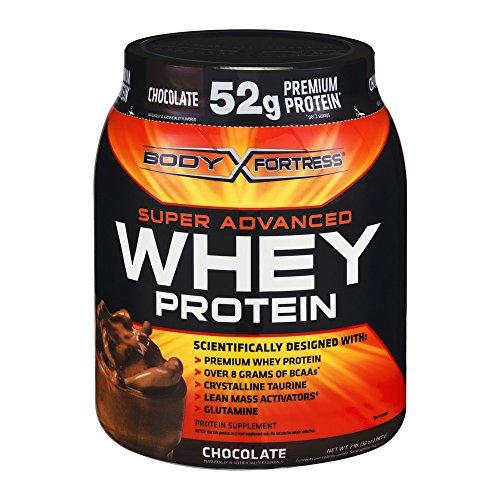 Body Fortress Super Advanced Whey Protein Powder, Chocolate, 2lbs