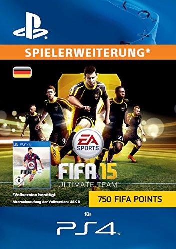 750 FIFA 15 Ultimate Team Points [Zusatzinhalt][PSN Code für deutsches Konto]