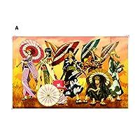 大人のパズル漫画ジグソーパズル500ピースのおもちゃ木製ジグソーパズルコミック子供 puzzle (Color : A)