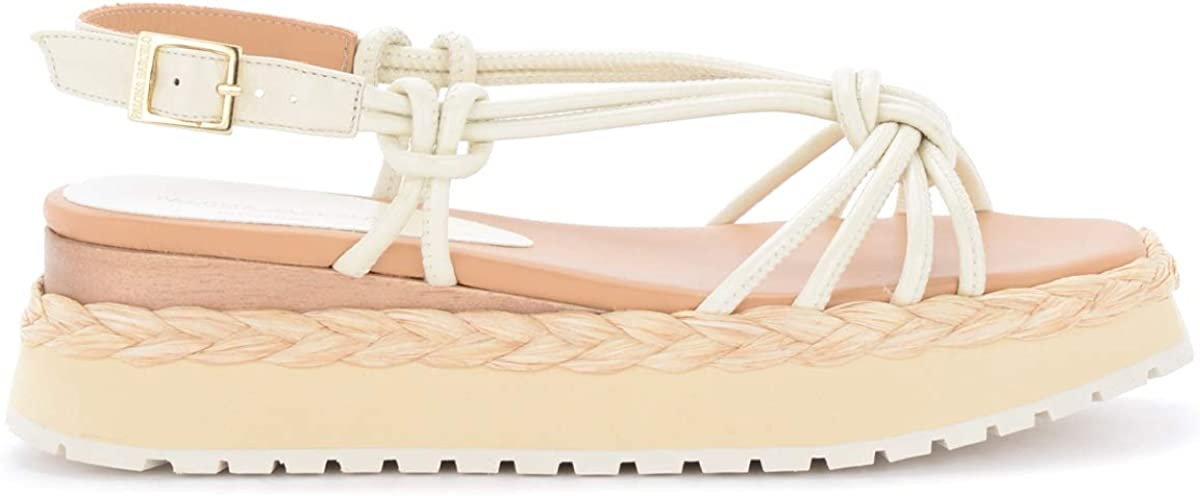Paloma Barcelo' New Super Special SALE held sales Barceló Acara Lea in Sandal Cream-Colored