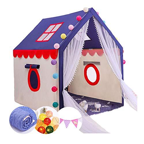 Tiendas de Niños Tienda De Niños, Espacio Independiente para Niños De 0 A 6 Años, Carpa De Juego En Interiores para Niños Y Niñas, 100x126x136cm (Color : PVC)