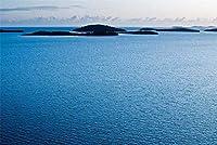 刺繍キットクロスステッチ刺しゅうキット初心者 海の島11CTスターターキットクラフトキットギフトホームデコレーションウォールデコレーション40x50cm