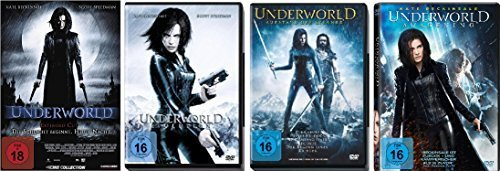 Underworld 1-4 : FSK-18 DVD Set - Deutsche Originalware [5 DVDs]