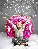 Bigmouth Inc bmt-bmst-pd Luge Gonflable Donut Fraise Multicolore