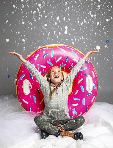 Bigmouth INC bmst-pd slee opblaasbaar donut aardbeien, meerkleurig