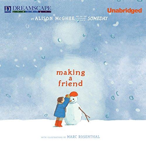 Making a Friend audiobook cover art