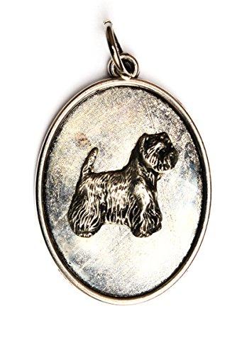 West Highland White Terrier, Hundehalskette, Medaillon, Limitierte Auflage, außergewöhnliches Geschenk, ArtDog