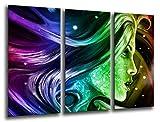 Cuadro Fotográfico Cuadro Fantasia Abstracta Tamaño total: 97 x 62 cm XXL