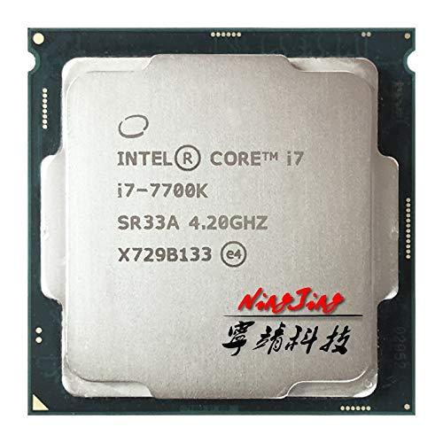 i7-7700K i7 7700K 4.2 GHz Quad-Core Eight-Thread CPU Processor 8M 91W LGA 1151