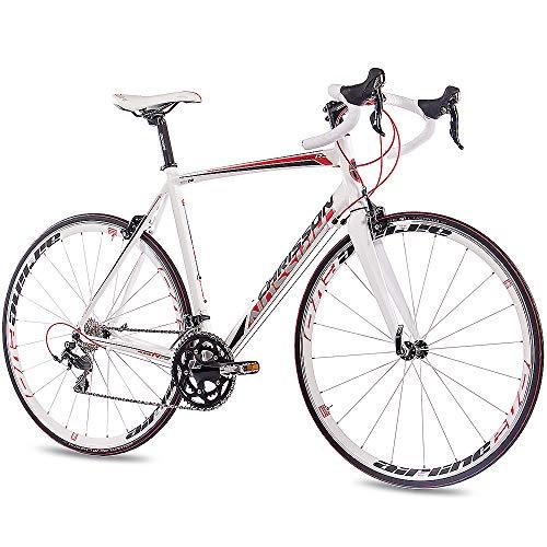'28'Aluminium Vélo chrisson Reloader 2016avec 20vitesses 105carbone Fourche Blanc mat