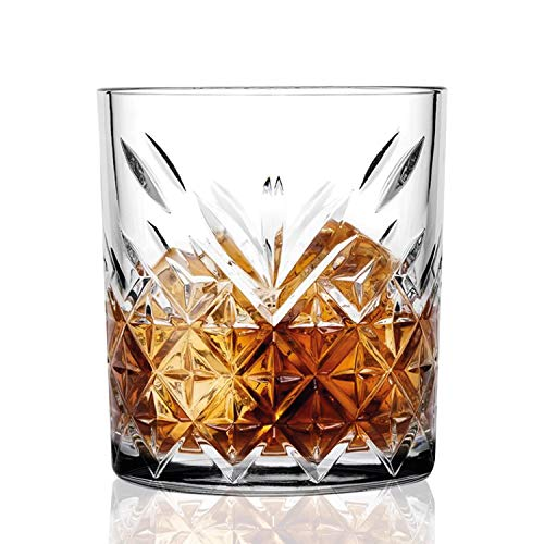 Set Bicchieri Vetro 12 Pezzi | Set Bicchieri Acqua 200 ml | Bicchieri di Vetro per degustazioni | Servizio Bicchieri 12 Persone | Calici in Vetro