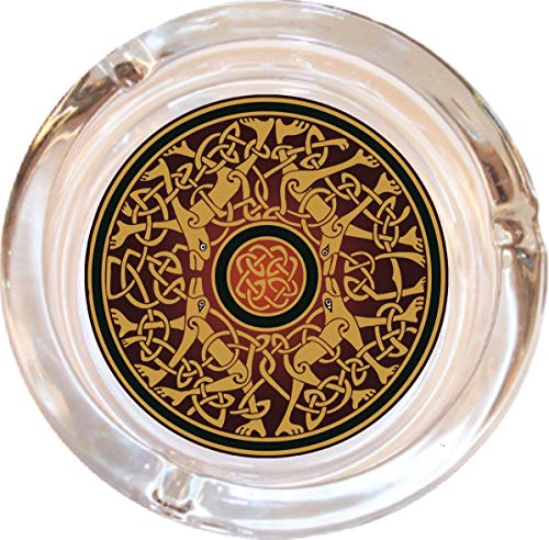 Black Ball Corp. Celtic Glass Ashtray - 4' Round