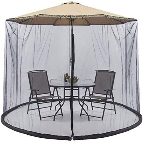 MISS KANG Paraguas al aire libre del jardín al aire libre paraguas de la tabla de la pantalla del paraguas del jardín al aire libre pantalla de la tabla del paraguas de la red de la cubierta del