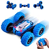 Highttoy Remote Control Stunt Car,2.4GHz 4WD RC Car Toys for 6-12 Year Old Boys Double-Sided Flipping 360°...