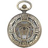 Distintivo reloj de bolsillo con caja hueca para damas elegantes relojes de bolsillo de Spider-Man para hombres Atractivo reloj colgante con esfera blanca, cadena gruesa para mujeres, soporte para rel