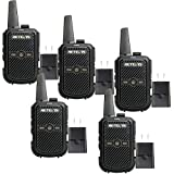 Retevis RT15 Two Way Radio Rechargeable, Channel Lock VOX Hands-free Small Walkie Talkie