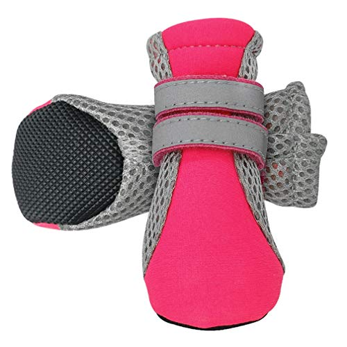 Pet Dog Shoes Boots,Winter Cat Chihuahua Rain Boots Waterproof Rubber Anti-Slip Footwear Teddy Socks