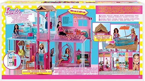 Maison de Luxe Barbie 3 Étages Rose - 8