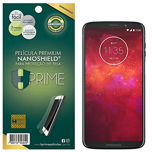 Pelicula NanoShield para Motorola Moto Z3 Play, HPrime, Película Protetora de Tela para Celular, Transparente