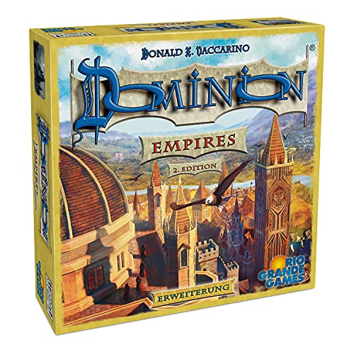 Rio Grande Games 22501422 Dominion Erweiterung-Empires (2. Edition)