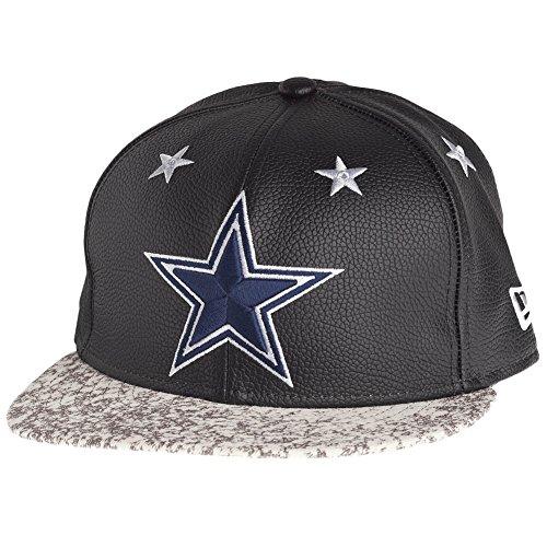 Nueva Era 950 Dallas Cowboys cuero rodillo gorra