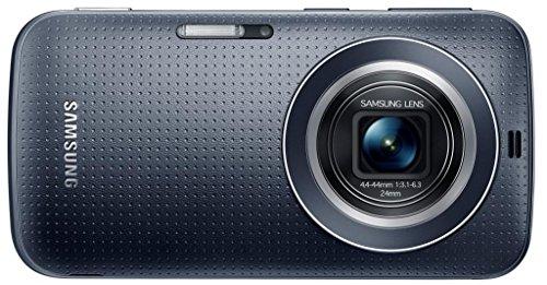 Samsung Galaxy K zoom C115 Smartphone (12,2 cm / 4,8 Zoll HD Super-AMOLED-Display, 8 GB interner Speicher, 20,7 Megapixel Kamera, 10-fach optischer Zoom, Android 4.4) Charcoal-black / schwarz