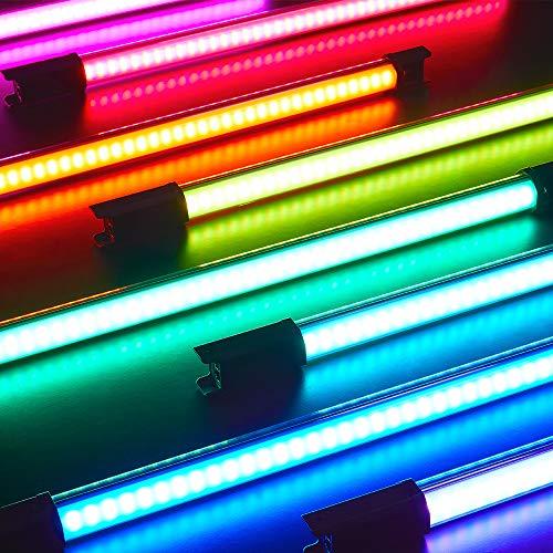 Godox TL60 4-Light Kit RGB Tube Light, CRI 96 TLCI 98 Accurate Color, 2700k-6500K...