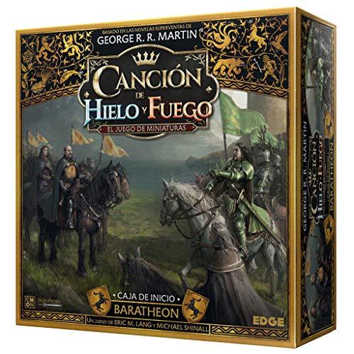 Edge Entertainment Canción de Fuego y Hielo el Juego de Miniaturas - Caja de Inicio Baratheon, EECMSI04