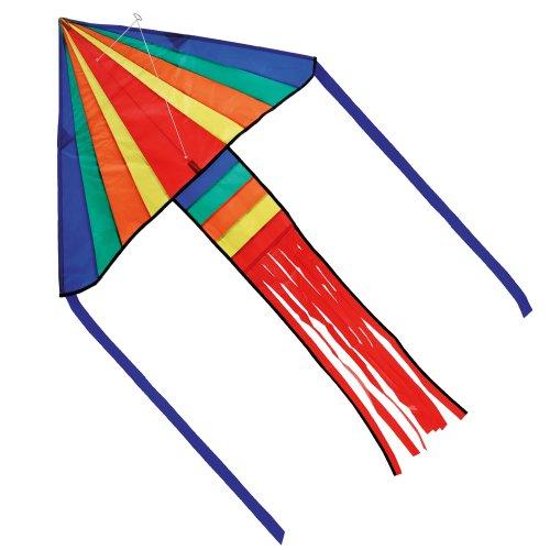 Brookite 100 x 151cm Rainbow Delta Kite