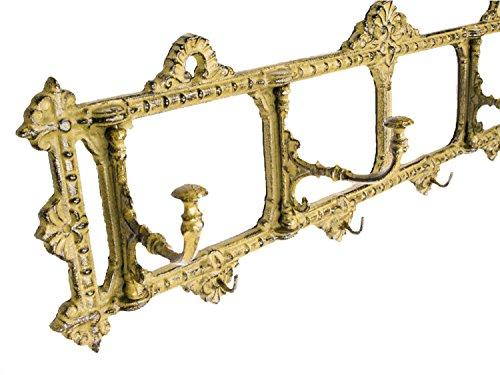aubaho Wandgarderobe Garderobe Jugendstil antik Stil 63cm Kleiderhaken Wardrobe Metal