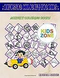 Dinosaur Coloring For Kids: Picture Quiz Words Activity And Coloring Books 35 Activity Suchomimus, Sauropelta, Camarasaurus, Tyrannosaurusrex, Suchomimus, Saltasaurus, Archelon, Volcano For Girls 5-7