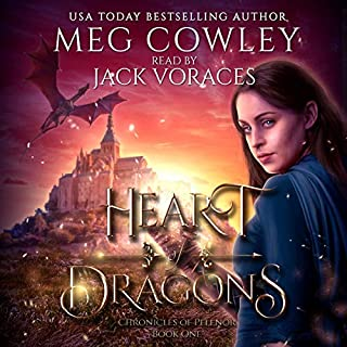 Heart of Dragons: A Sword & Sorcery Epic Fantasy  audiobook cover art