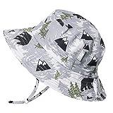 JAN & JUL Baby Boy Quick Dry Sun Hat 50 UPF, Adjustable, Stay-on Tie...