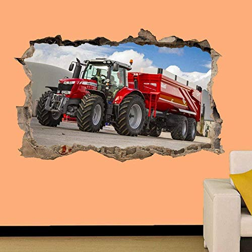 TJJY Wall Sticker Strong Traction Wall Stickers 3D Art Mural Office 60x90 cm