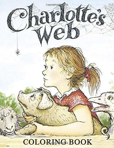 Price comparison product image Charlottes Web Coloring Book: Great Coloring Book Gift for Kids,  Boys & Girls,  Ages 3-8