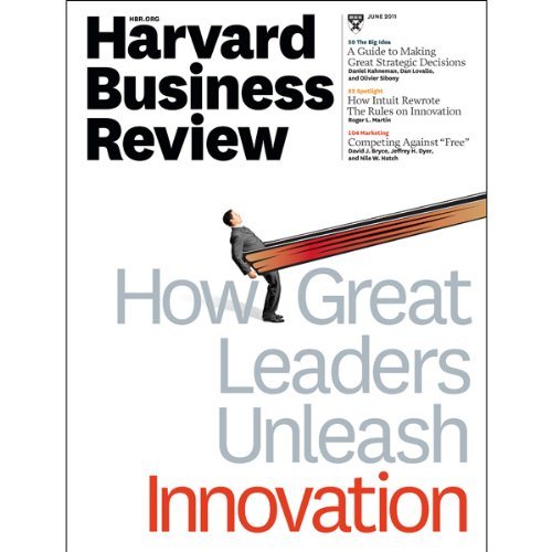 Harvard Business Review, June 2011 audiobook cover art