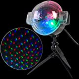 APPLights LED Projection-SnowFlurry 61 Programs Stake Light