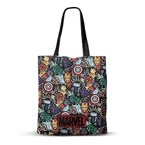 KARACTERMANIA Marvel Trend-Bolsa de la Compra Shopping Bag, Multicolor