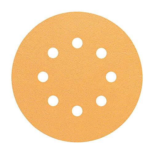 Bosch Professional Schleifblatt für Exzenterschleifer Holz und Farbe (50 Stück, Ø 125 mm, Körnung 80, C470)