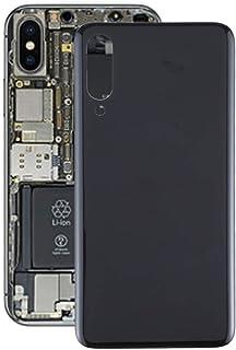 香港携帯電話の付属品 Meizuの16Xs用バッテリー裏表紙 交換部品 (色 : Black)